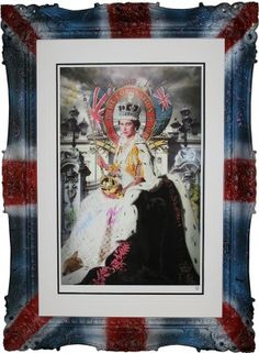 Queen Coronation Deluxe  - Spray Painted by JJ Adams  (SOLD OUT)