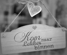 Kom binnen in mijn huis! #leenbakker