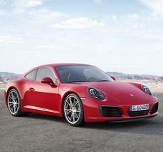 Porsche has two new cars: the 911 Turbo Carrera and Carrera S