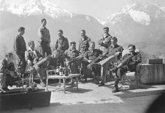 Rare Historical Images That Will Shock You 918 SHARES FacebookTwitter band-of-brothers  Band Of Brothers The real-life crew that was depicted in the TV show Band of Brothers is seen here at Hitler's home, The Eagle's Nest.
