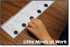 first reading skill kinders need: one to one tracking!
