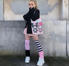 Alternative Outfits, Alternative Mode, Alternative Fashion, Pastel Goth Fashion, Kawaii Fashion, Cute Fashion, Look Fashion, Gothic Fashion, Fashion Men