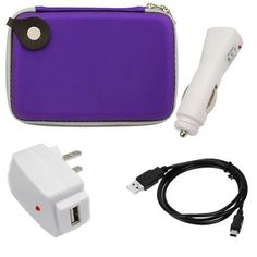 GTMax Purple Eva Pouch Carrying Case + Black USB 2.0 A to Mini-USB B 5-Pin Cable + White USB Home Wall AC Charger + White USB Car Charger for Magellan RoadMate 5045-LM, Maestro 5310 ,Garmin nuvi 1450LM, nulink 1695, nuvi 2300LM, nuvi 2450,TomTom 540 WTE, EASE, 2435, 2535 by GTMax. $9.99. GPS 5-inch Eva Pouch Carrying Case - Purple Brand new generic case. Stylish & high quality case. Smooth, non-scratch lining interior. Prevents damage or scratch to your GPS from objects in ...