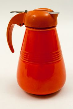 Rare Radioactive Red Harlequin Syrup Pitcher