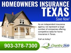 Good Monday Morning everyone- let's start this week off right! Call us today when looking for a better deal on home insurance in Paris Texas or any of the local areas - average savings hundreds per year! www.countrysideins.com/texas-homeowners-insurance/homeowners-insurance-paris-texas/