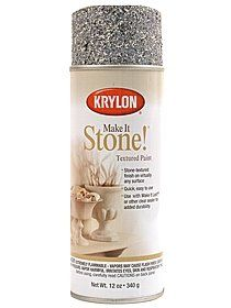 Stone Faux Finishing Spray--would love this for my table top! Medieval Door, Medieval Party, Medieval Theatre, Flintstone Theme, Cave Quest Vbs, Textured Spray Paint, Vbs Themes, Stone Painting, Decorating Tips