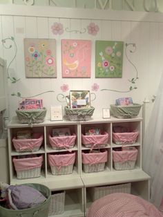 Crate & Barrel...sweet little girl's room