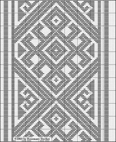 Chart for pattern darning Blackwork Embroidery, Embroidery Stitches, Embroidery Patterns, Hand Embroidery, Zeina, Palestinian Embroidery, Swedish Weaving, Tablet Weaving, Crochet Diagram