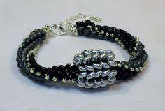tubular herringbone with twin beads
