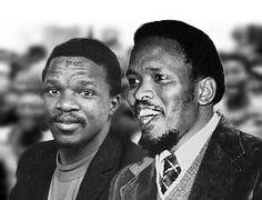 Onkgopotse Tiro and Steve Biko Steve Biko, Man Of Honour, Black History Facts, Great Leaders, Nelson Mandela, Africans, Black Kids, My Heritage, African History
