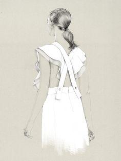'Untitled XVII'. Giclée Konsttryck av Caroline Andrieu - Arte Limited