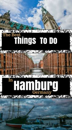 The Best Things To Do In Hamburg Germany. We wanted to highlight some of the things that made our stay so great. Our tips are designed to make your trip to Hamburg easier and give you some recommendations for your stay. Cities In Germany, Visit Germany, Hamburg Germany, Germany Travel, Beautiful Places To Visit, Cool Places To Visit, Eurotrip, European Travel, Adventure Travel
