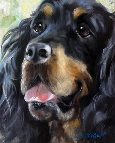 Happy Face (Sitter) Oil Painting By Mary Sparrow (Smith)