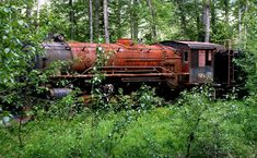 old logging machinery | Got some cameras; got some glass ..... I just need one more of ...