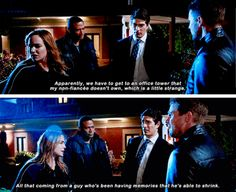 """""""Have you explained to Ray what we have to do?"""" - Oliver, Sara, John and Ray #Arrow"""