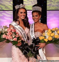 Miss Ohio USA 2014 Madison Gesiotto age 21, height 5'1, from Jacksontownship