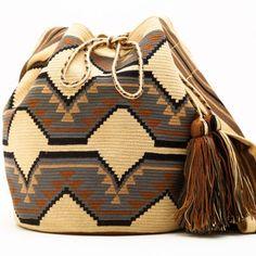 Original Wayuu Bags of One Thread Hebra - Fine Mochila Bags | Hermosa