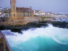 M's Stormy Porthleven Pic