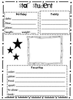 Star Student - classroom pack