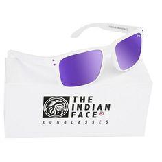 Découvrez Lunettes de soleil Unisexe The Indian Face Freeride Spirit Blanc,  chez CARA-SHOP.COM à prix tout petit. dc47c20b2bd4