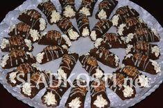 Kakaové trubičky s ořechy