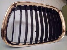 Bmw E39 Niere 24 Karat vergoldet. By Gold Custom.