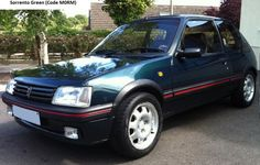 How to identify a 1990 - 1994 Peugeot 205 GTI Phase 2 Peugeot, Renault 5 Gt Turbo, Phase 2, Small Cars, Car Pictures, Cars And Motorcycles, Cool Cars, Dream Cars, Super Cars