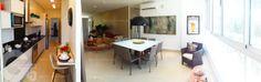 Apartamento 3 Quartos Decorado Terra Mundi Parque Cascavel - Cozinha integrada com o apartamento