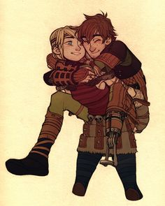 havocmachine:    I think I've only ever seen Hiccup lifting Astrid, but let's be honest about who would be lifting whom in this relationship.