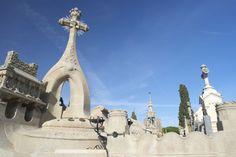 Lloret de Mar Modernist Cemetery  by Quijuka Scrap World