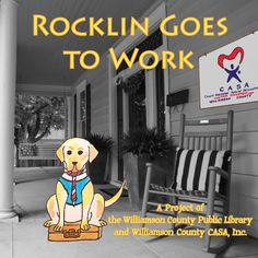 Keep an eye out - we've got a new book coming out soon!!  Created with Williamson County CASA.