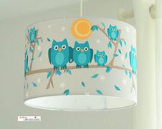 Lampshade, owl family