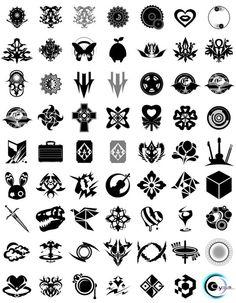 songs marks Badge Design, Icon Design, Logo Design, Tattoo Sketches, Art Sketches, Magic Symbols, Ancient Symbols, Tattoo Filler, Dibujos Tattoo