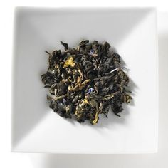 Bleu Peacock . $14.95. An oolong tea blend from China, Bleu Peacock oolong tea with its subtle and sweet spices, inspires tranquility as notes of citrus tease the palate. This elegant and confident oolong teawill surprise and soothe.   • 4 oz. loose tea in bag   • 1 rounded tbsp. per 12 oz. cup   • Makes 25-30 cups