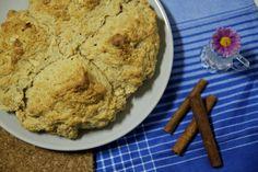 Clica para veres a receita completa deste Pão Rápido, um scone gigante!