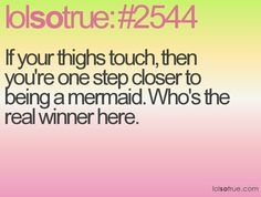 Really tho who doesn't want to be a mermaid?