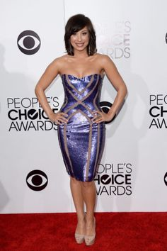 Best look: People's Choice Awards 2014