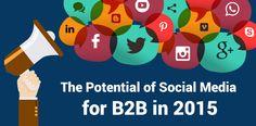 B2B Marketing Survey: 9 Benefits of Social Media Marketing  Infographic