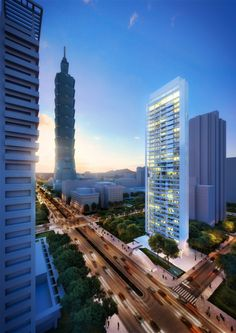 CDC 55 Timeless Xin-Yi Residential Tower – Richard Meier & Partners Architects