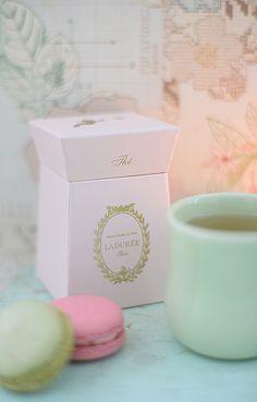 macarons und tee von laduree