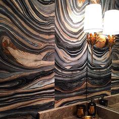 Rosa Beltran Design Blog Swirly Agate Walls Diy With