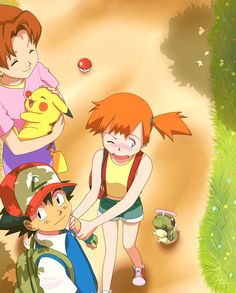 """This is a Tumblelog dedicated to the romantic relationship of Ash Ketchum and Misty of """"Pokemon"""". Pokemon Show, Sexy Pokemon, Pokemon Pins, Pokemon Images, Pokemon Pictures, Cute Pokemon, Pokemon Stuff, Pokemon Ash Ketchum, Ash Pokemon"""