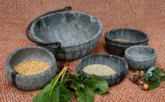 Soapstone cooking pots based on finds from Haithabu. By Florian Peteranderl