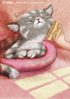 Pinzellades al món: Les il·lustracions de gats de Chen-yi Lin / Las ilustraciones de gatos de Chen-Yi Lin / The illustrations of cats, Chen-Yi Lin