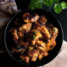Indo-Chinese style chicken curry flavored with fresh ginger and soy sauce.
