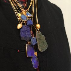 ♛ Pippa Small Jewellery Beautiful iridescent labradorites, heavenly lapis, glowing opals, regal amethysts, mysterious moonstones and Ancient Egyptian talismans just to mention some of the stone amulets we have in the shop for Christmas ...