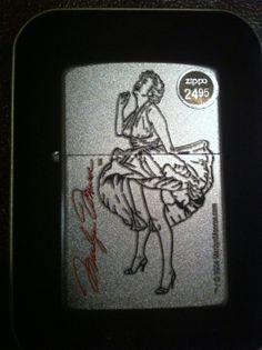 Marilyn Monroe zippo lighter Brand New
