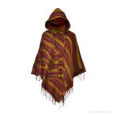 Himalayan Triangle Poncho Hoodie on Sale for $35.00 at HippieShop.com