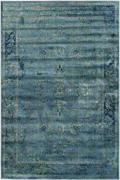 """Safavieh Vintage VTG-117 Turquoise (2220) Area Rugs 8"""" x 11""""2' $625.30"""