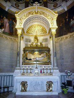Saint John Vianney, died 1859 | ... of the Basilica of Ars with the shrine-tomb of St. John-Marie Vianney
